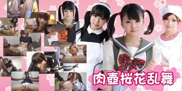 肉壺桜花乱舞