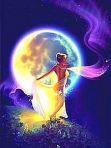 月夜の麗女